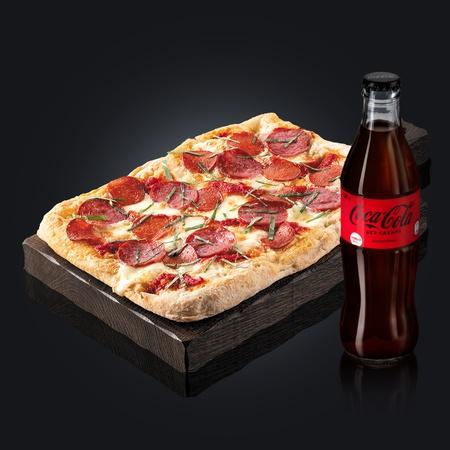 Пеперони + Coca-Cola Zero