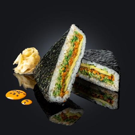 Суси-сэндвич с овощами