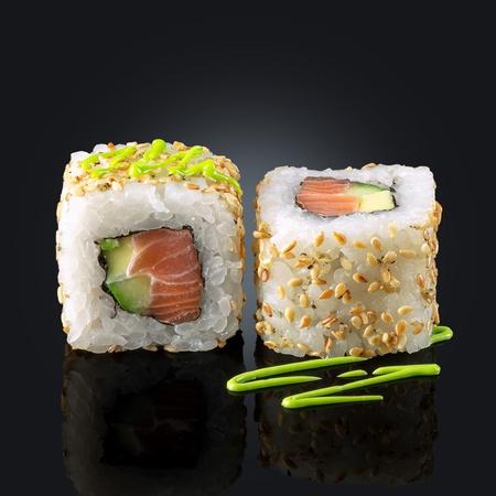 Сякэ wasabi маки