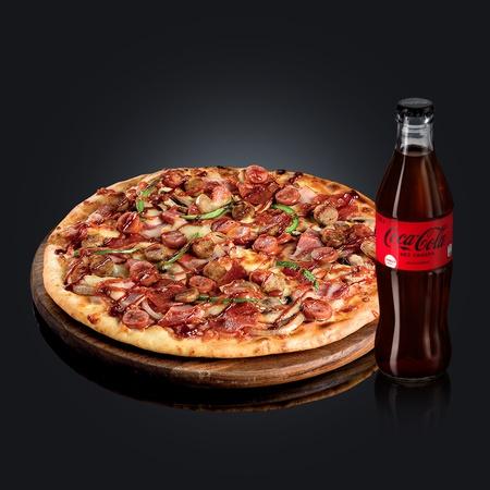 Охотничья + Coca-Cola Zero