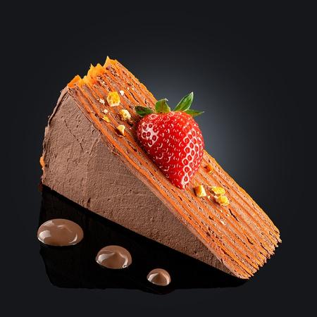 Шоколадно-апельсиновый панкейк